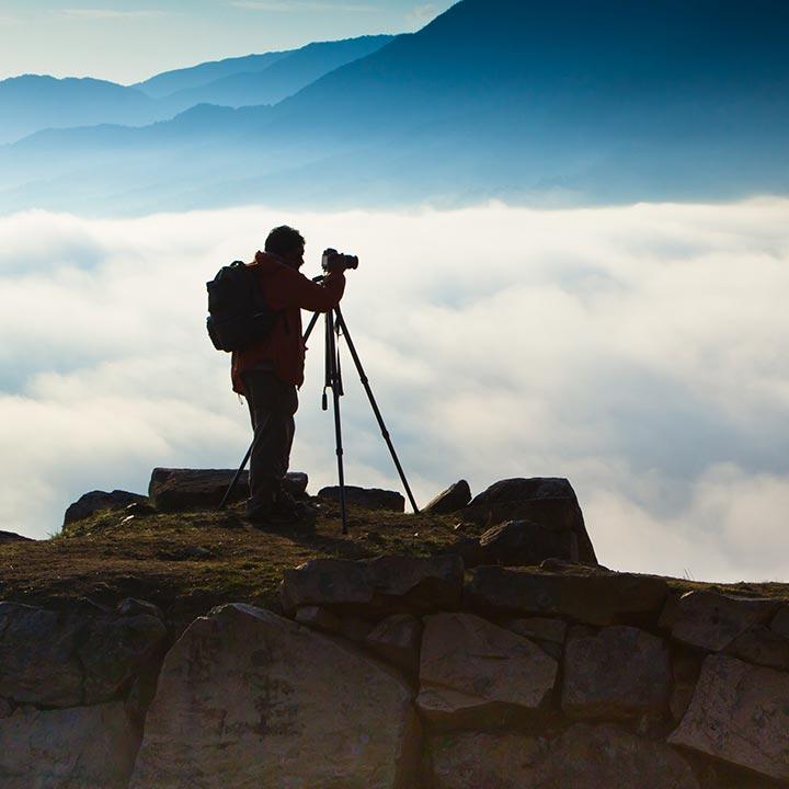 いろんな専門分野があるカメラマン!